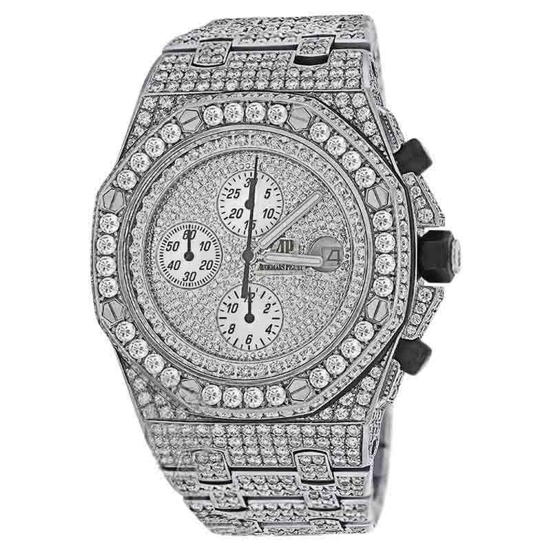 "Image of ""Audemars Piguet Royal Oak Offshore Stainless Steel Diamond Dial 42 mm"""