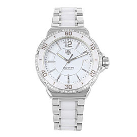 Tag Heuer Formula One WAH1213.BA0861 Stainless Steel & Ceramic Quartz 37mm Womens Watch
