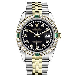 Rolex Datejust Stainless Steel / 18K Yellow Gold 36mm Womens Watch