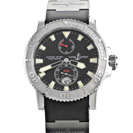 Ulysse Nardin Maxi Marine Diver 263-33-3/91 Stainless Steel Automatic 43mm Mens Watch