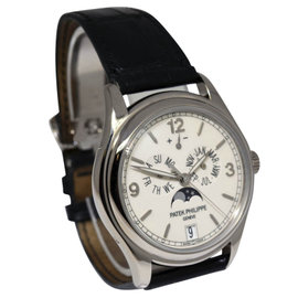 Patek Philippe Annual Calendar 5146G 18K White Gold 39mm Mens Watch