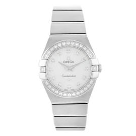 Omega Constellation 123.15.24.60.55.002 Stainless Steel Quartz 24mm Womens Watch