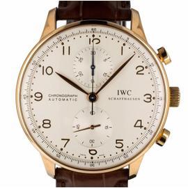 IWC Portuguese IW371480 18K Rose Gold 41mm Mens Watch