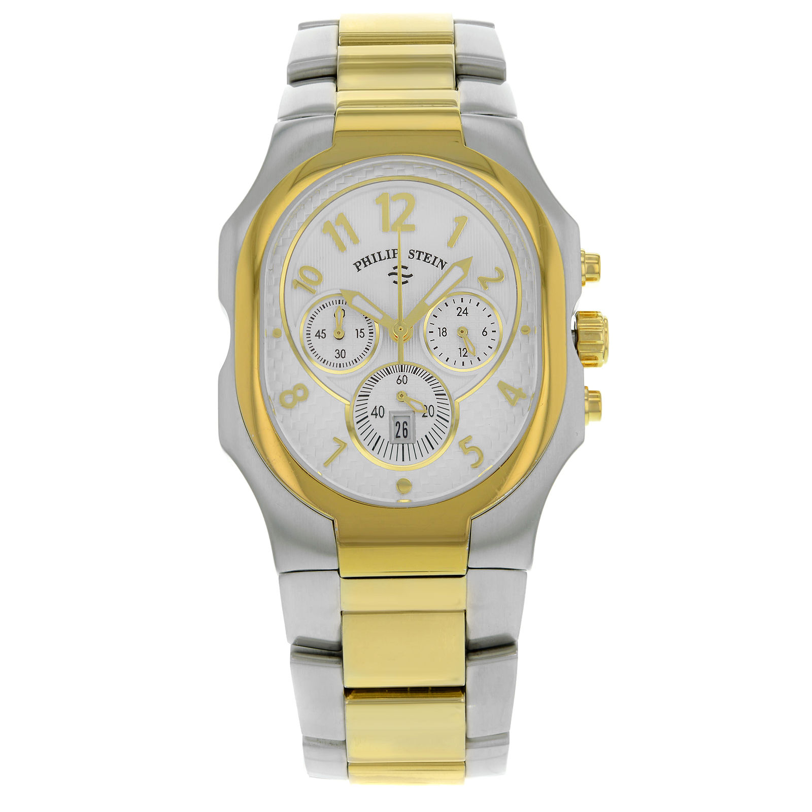 "Image of ""Philip Stein Signature 23Tg-Nwg-3-Sstg Stainless Steel & Gold Plated"""