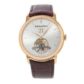 Audemars Piguet Jules Audemars Tourbillon 26559OR.OO.D088CR.01 Pink Gold 41mm Mens Watch