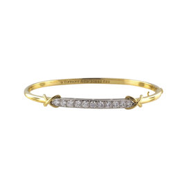 Tiffany & Co. 950 Platinum & 18K Yellow Gold Diamond