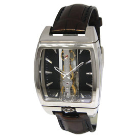 Corum Golden Bridge 313.150.59/0001 FN01 18K White Gold & Leather Automatic 37.2mm Mens Watch