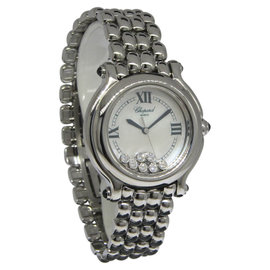 Chopard Happy Sport 27/8236-23 Stainless Steel Mother of Pearl Quartz 32mm Womens Watch