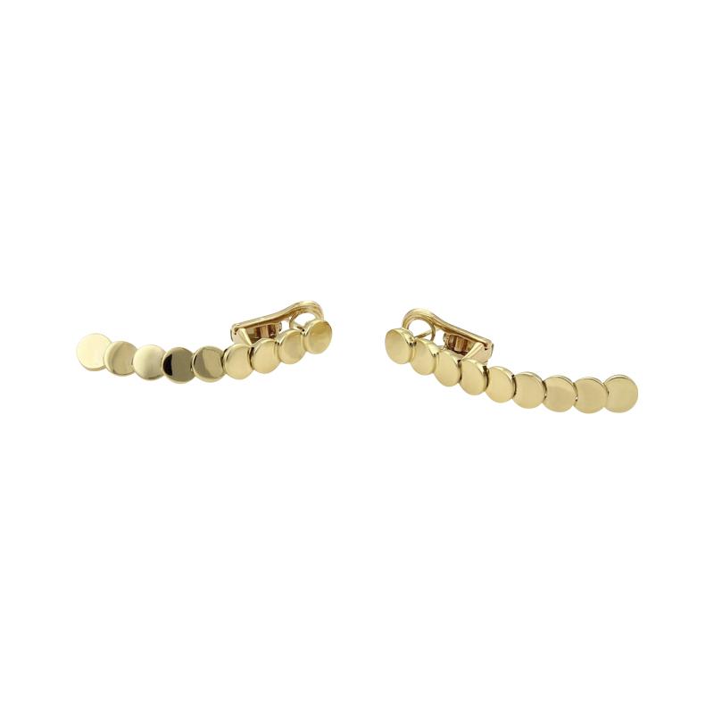 "Image of ""Piaget 18K Yellow Gold Drop Dangle Earrings"""