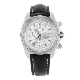mens designer watches breitling 9u2o  Breitling Chronomat A13356 Stainless Steel Automatic 44mm Mens Watch