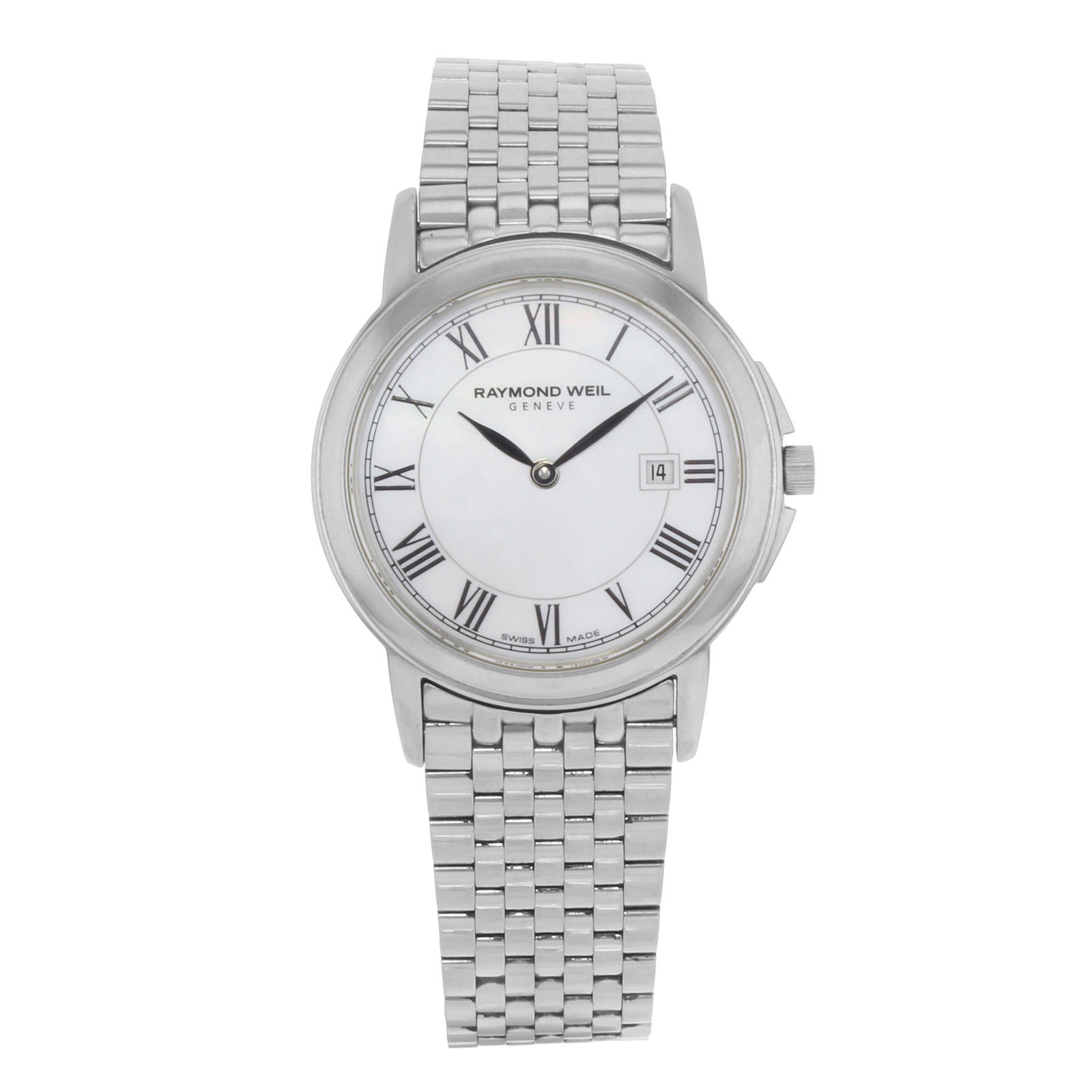 """Image of """"Raymond Weil 5966-St-00970 Stainless Steel with Mother of Pearl Dial"""""""