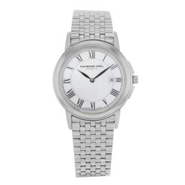 Raymond Weil 5966-ST-00970 Stainless Steel with Mother of Pearl Dial 28mm Womens Watch