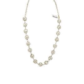 Gurhan Sterling Silver Champagne Topaz Cage Balls Necklace