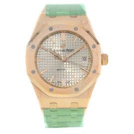 Audemars Piguet Royal Oak 15450OR.OO.1256OR.01 18K Rose Gold 37mm Mens Watch