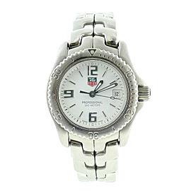 Tag Heuer Link WT1414 Stainless Steel with White Dial 28mm Womens Watch
