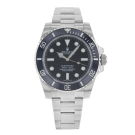 Rolex Submariner 114060 Stainless Steel 40mm Mens Watch