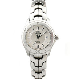 Tag Heuer Link WJ1310-0 Stainless Steel with Silver Dial 28mm Womens Watch