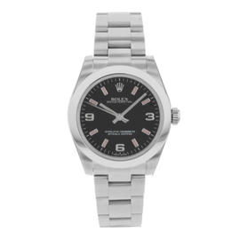 Rolex Oyster Perpetual 177200 Stainless Steel 32mm Mens Watch