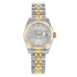 Rolex Datejust 179173 18K Yellow Gold & Steel Automatic 26mm Womens Watch