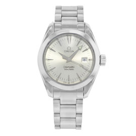 Omega Seamaster Aqua Terra 2577.30.00 Stainless Steel Quartz 29mm Womens Watch