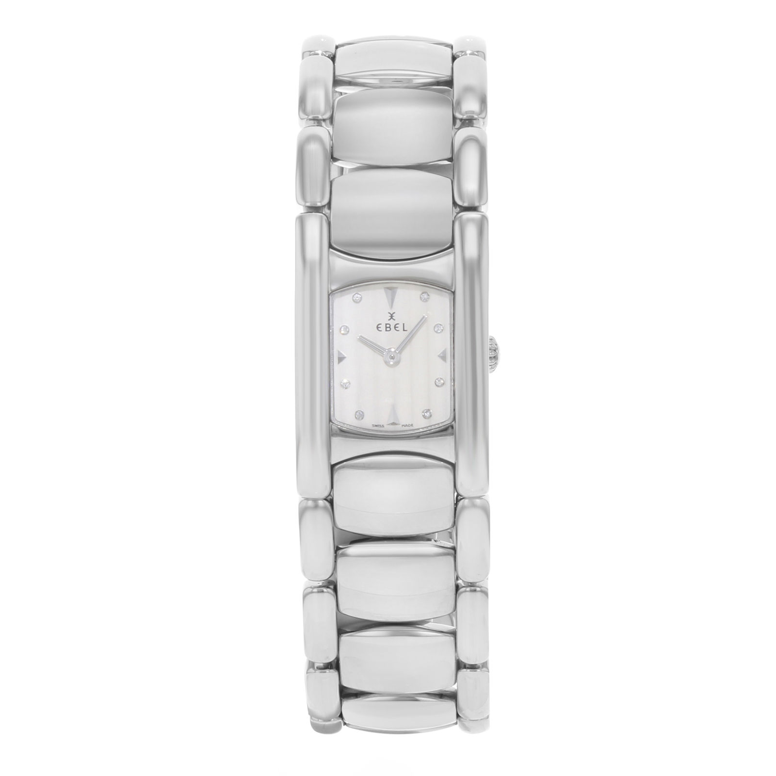"Image of ""Ebel Manchette 9057A21 Stainless Steel Quartz 20mm Womens Watch"""