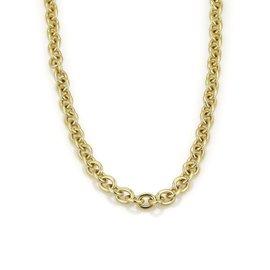 Bulgari Bvlgari 18K Yellow Gold Oval Link Chain Necklace