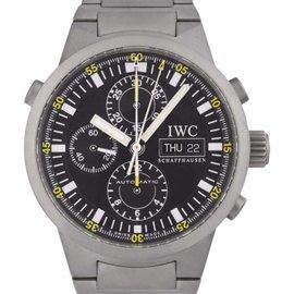 IWC GST IW3716 Titanium Automatic 42mm Mens Watch