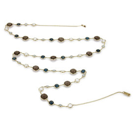 Ippolita Lollitini Multicolor Gems 18K Yellow Gold Necklace
