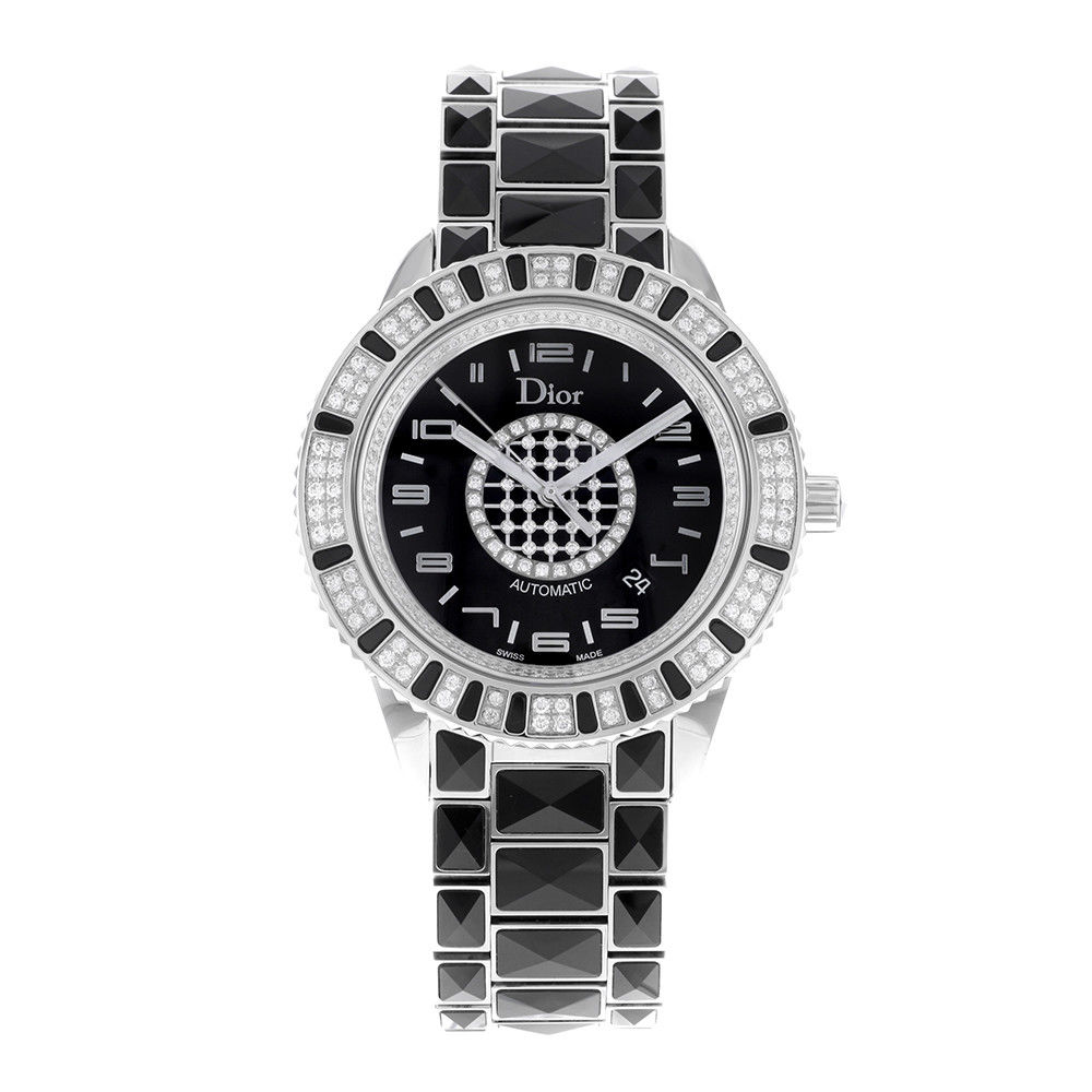 """Image of """"Christian Dior Christal Cd115511M001 Stainless Steel & Ceramic"""""""