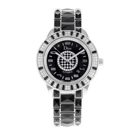 Christian Dior Christal CD115511M001 Stainless Steel & Ceramic Automatic 42mm Unisex Watch