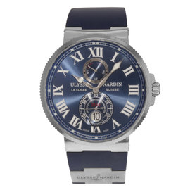 Ulysse Nardin Maxi Marine 263-67-3-43 Stainless Steel / Silicon Automatic 43mm Mens Watch
