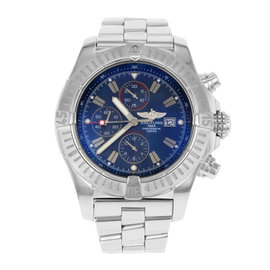Breitling Super Avenger A1337011/C757-SS Stainless Steel Automatic 48mm Mens Watch