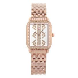 Michele Deco II MWW06I000021 Rose Gold / Stainless Steel Quartz 27mm Womens Watch