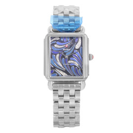 Michele Deco II MWW06X000019 Stainless Steel 30mm Quartz Womens Watch