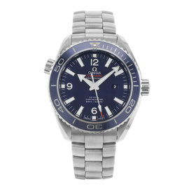 Omega Seamaster Planet Ocean 232.90.38.20.03.001 Titanium Automatic 38mm Womens Watch