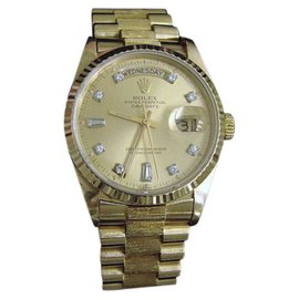 Rolex Day-Date 18038 18K Yellow Gold Automatic 36mm Mens Watch