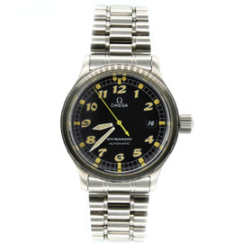 Omega Dynamic 1570/870 Stainless Steel Black Dial 36mm Unisex Watch