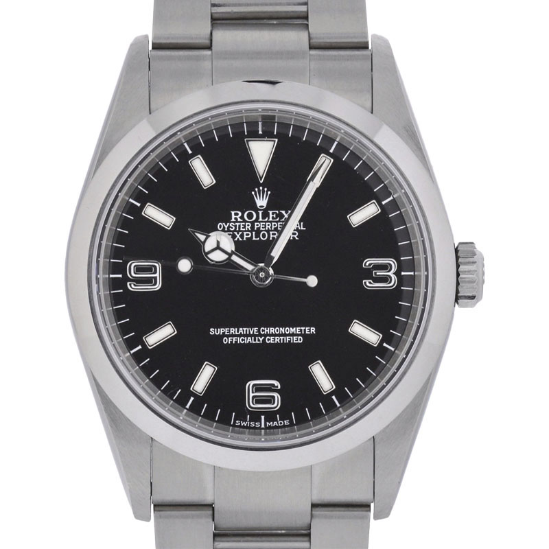 """Image of """"Rolex Explorer 114270 Stainless Steel Swiss Automatic 36mm Mens Watch"""""""