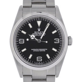 Rolex Explorer 114270 Stainless Steel Swiss Automatic 36mm Mens Watch