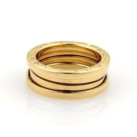 Bulgari B.Zero1 18K Yellow Gold Band Ring Size 5.5