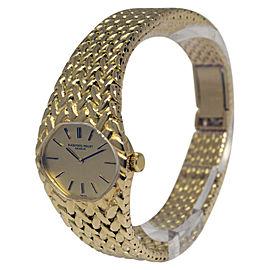 Audemars Piguet Dress Watch 18K Yellow Gold Manual Vintage 25mm Womens Watch