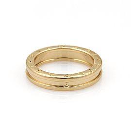 Bulgari B Zero-1 18K Rose Gold Ring Size 8.5
