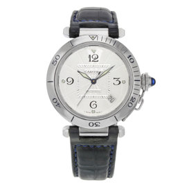 Cartier Pasha W3103155 Stainless Steel Automatic 38mm Mens Watch