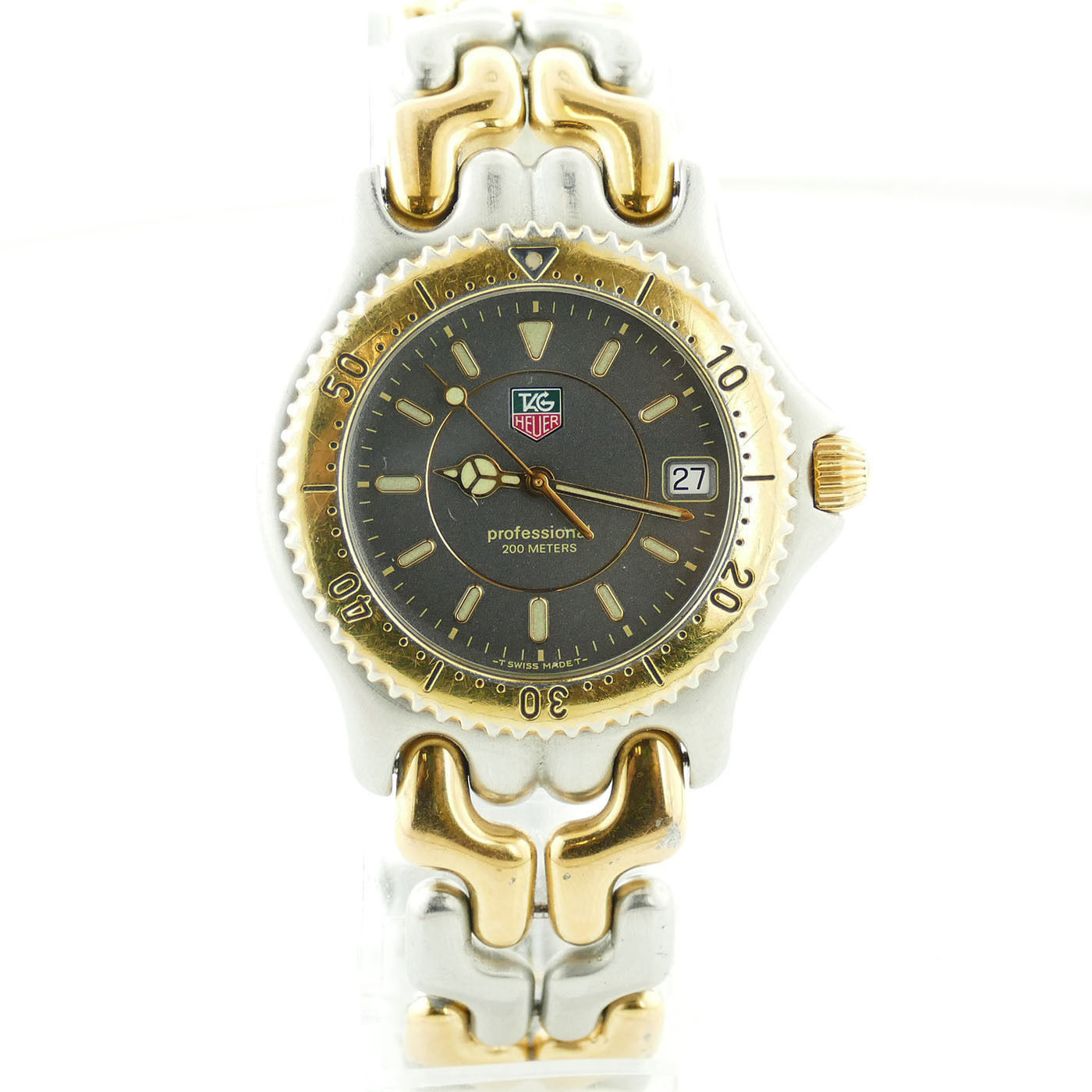 """Image of """"Tag Heuer Sel 200 Wg1120-0 Two Tone Gold Plated and Stainless Steel"""""""