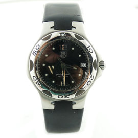 Tag Heuer Professional Kirium WL111DQuartz Black Dial Stainless Steel 37mm Mens Watch