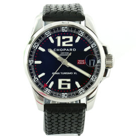 Chopard Miglia Gran Turismo Xl 16/8997 Black Dial Stainless Steel Automatic 44mm Mens Watch