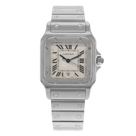 Cartier Santos W519723 Stainless Steel Quartz 29mm Unisex Watch