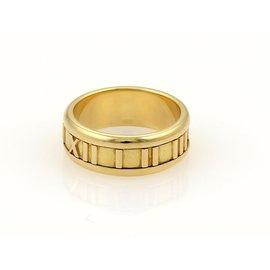 Tiffany & Co. Atlas 18K Yellow Gold Band Ring Size 5.5