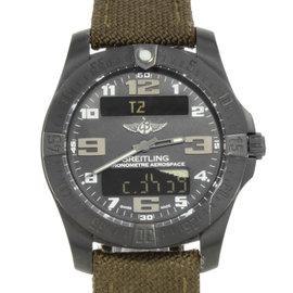 Breitling Professional Evo V7936310/BD60-108W Titanium Quartz 43mm Mens Watch