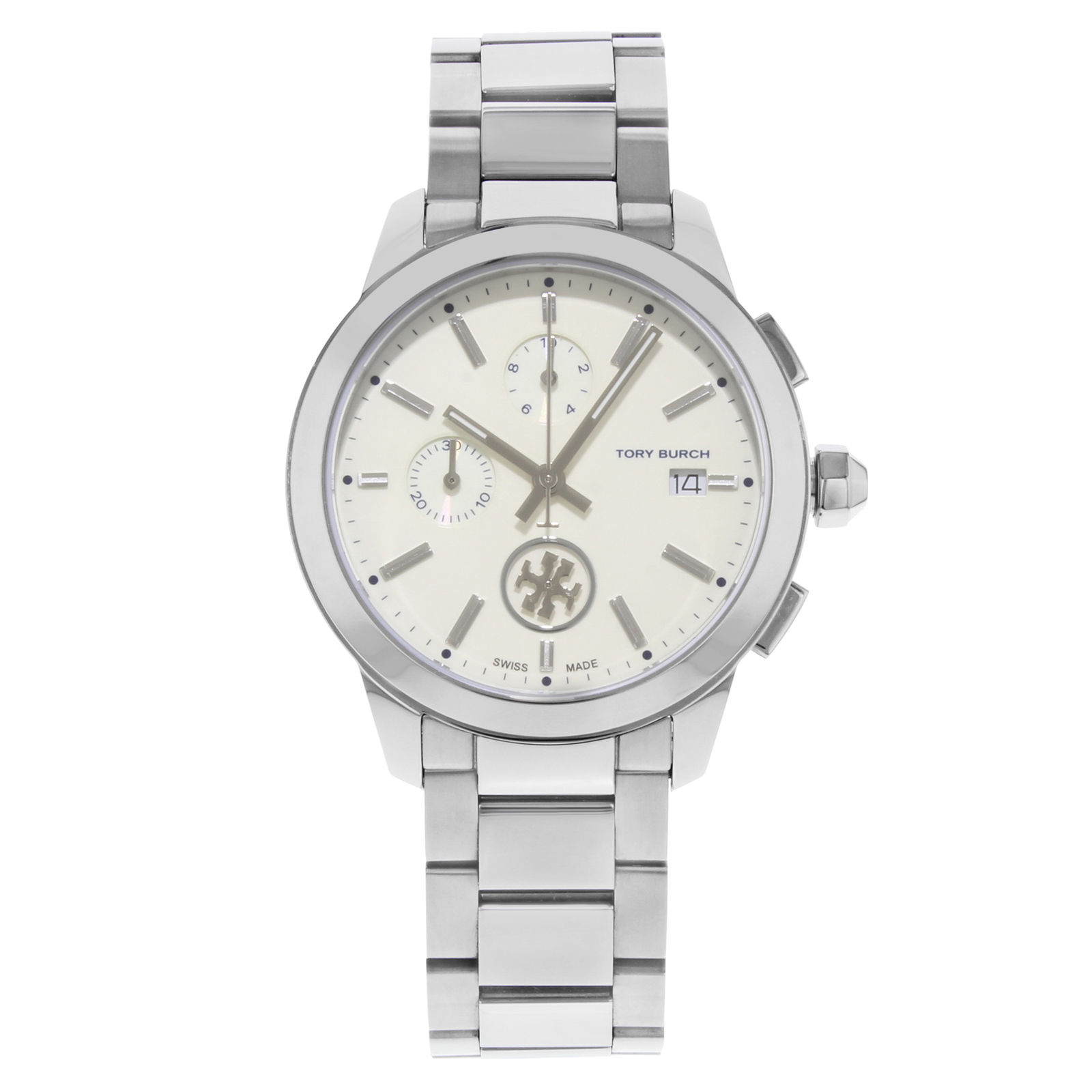 "Image of ""Tory Burch Collins Tb1252 Stainless Steel Quartz 38mm Womens Watch"""